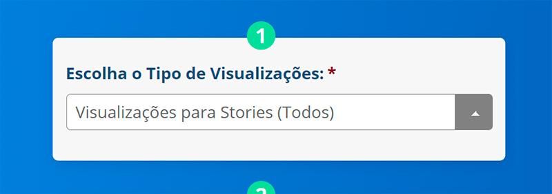 Comprar Visualizações Stories Instagram