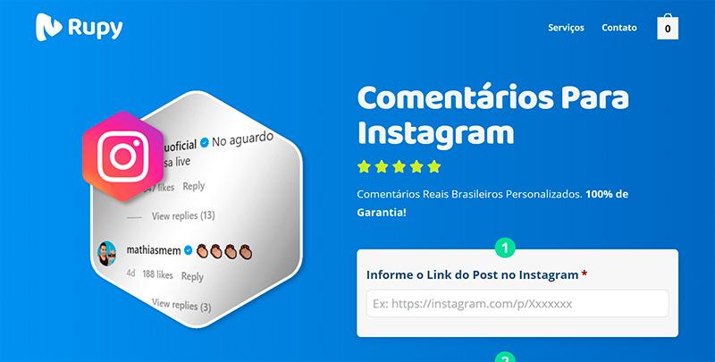 Melhor Site Para Comprar Comentários Instagram