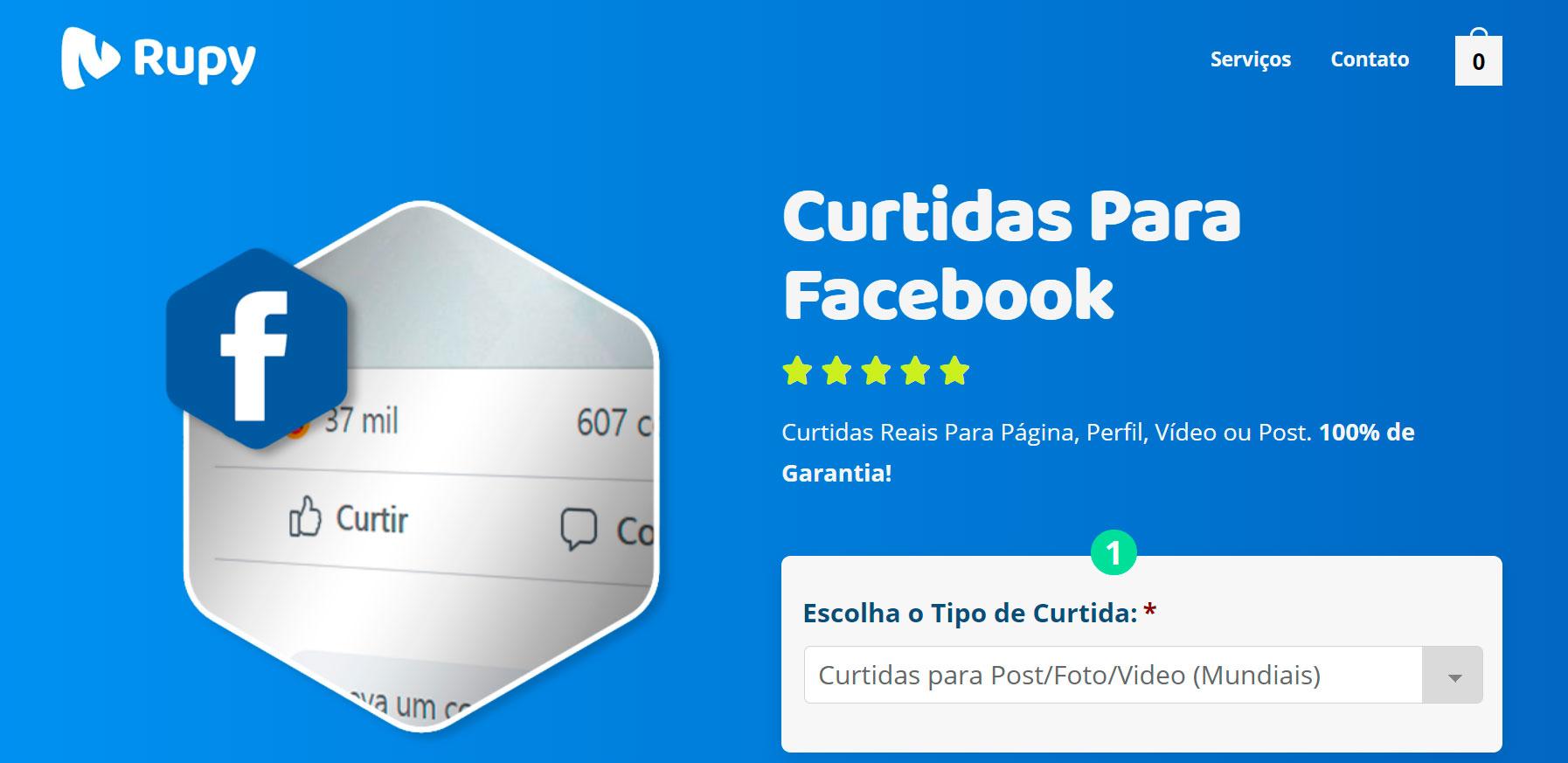 Melhor Site Para Comprar Curtidas Facebook