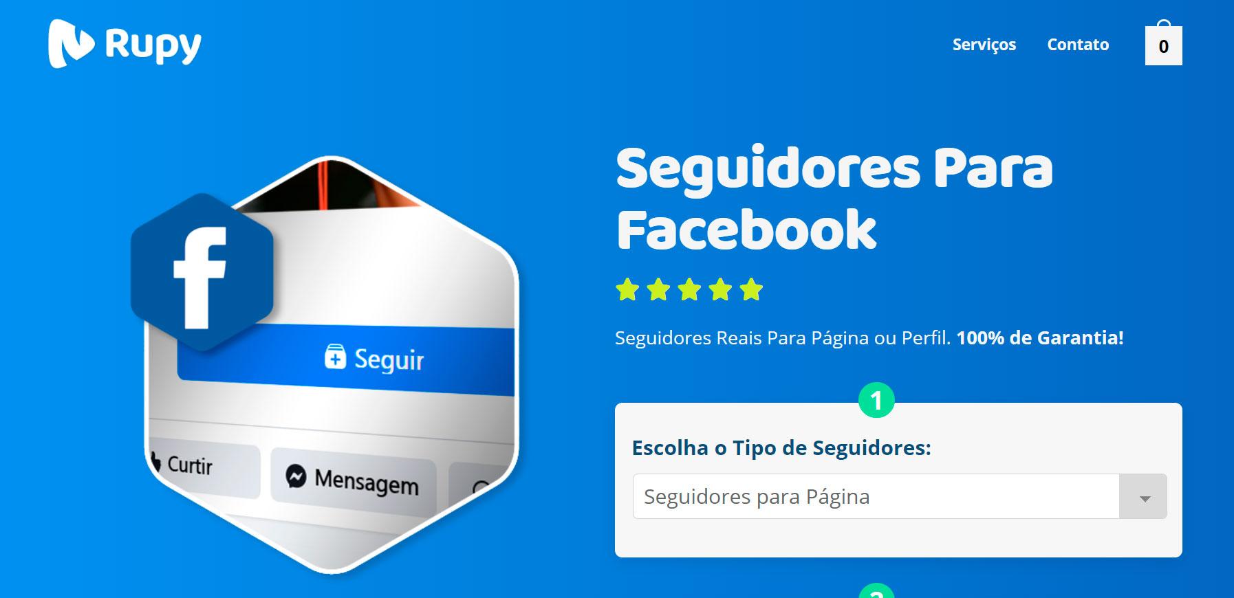 Melhor Site Para Comprar Seguidores Facebook