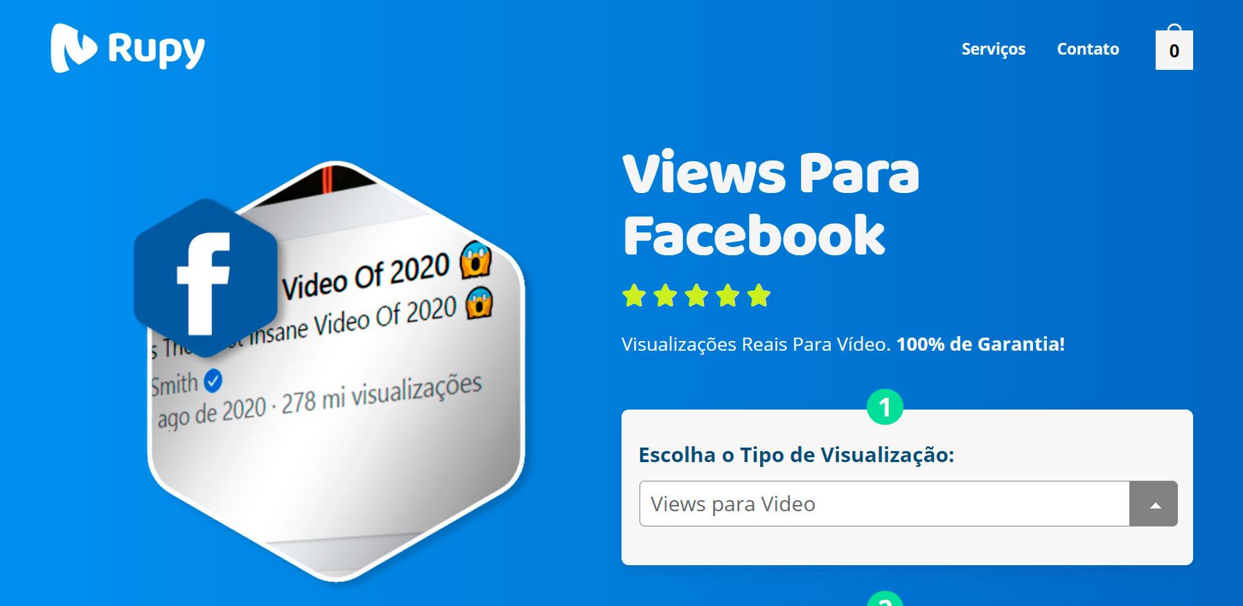 Melhor Site Para Comprar Visualizações Facebook