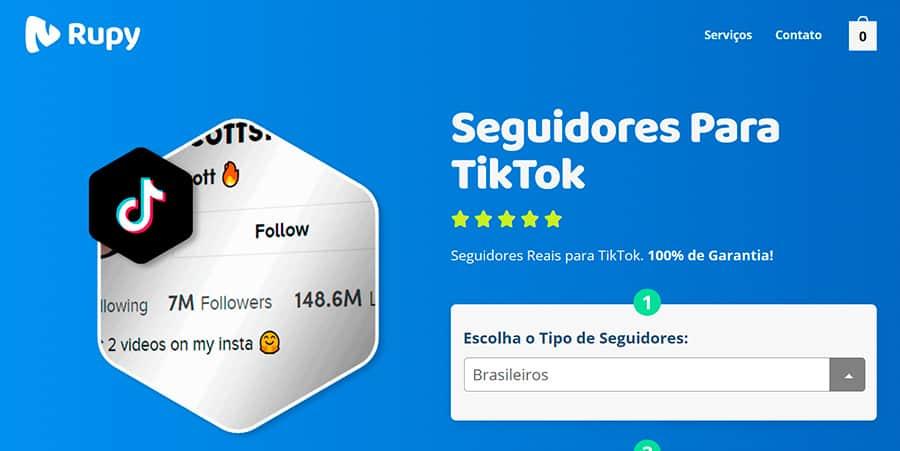 Melhor Site Para Comprar Seguidores TikTok