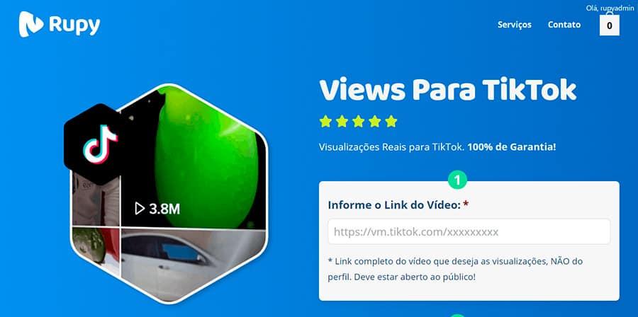 Melhor Site Para COmprar Visualizações TikTok